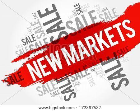 New Markets Words Cloud