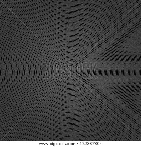 Geometric modern vector pattern. Fine ornament with black dotted elements. Geometric abstract pattern