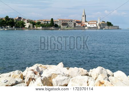 Old Istrian Town Of Porec