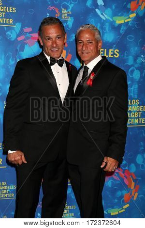 LOS ANGELES - SEP 24: Greg Louganis, Johnny Chaillot-Louganis at the Los Angeles LGBT Center 47th  Gala Vanguard Awards at the Pacific Design Center on September 24, 2016 in West Hollywood, CA
