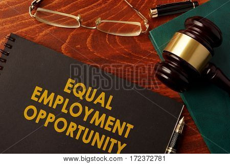A book with title Equal Employment Opportunity.