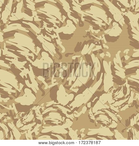 Seamless Pattern Protective Camouflage  Coloration  Fatherland  .vector Illustration