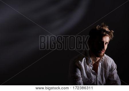 Man After Nervous Breakdown