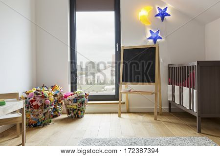 Cozy Room For A Child