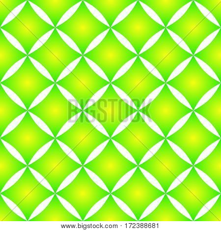Seamless decorative pattern with rhombus with gradient effect.