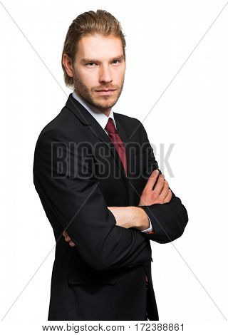 Handsome nordic businessman portrait