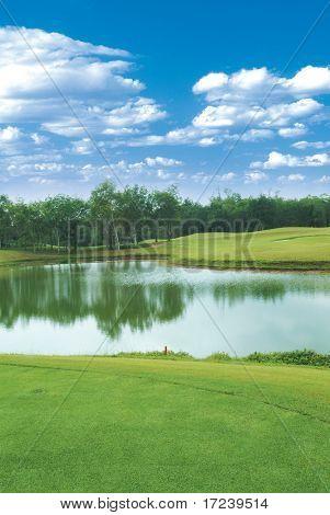 Landscape of Golf Links