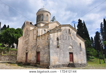 The temple of St. Simon the zealot in New Athos 2016