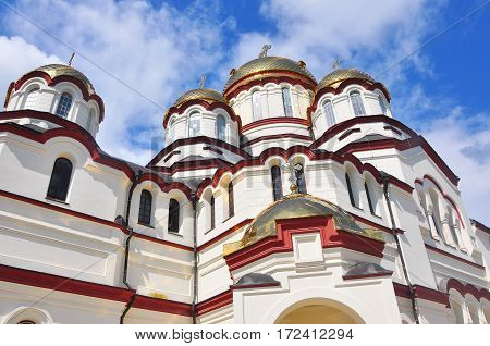 the new Athos monastery in Abkhazia July