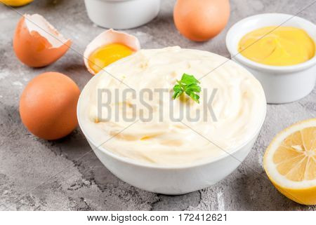 Mayonnaise With Ingredients