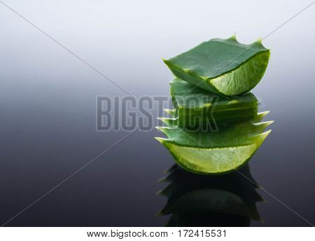cream with fresh flowers cosmetic water beauty aloe vera