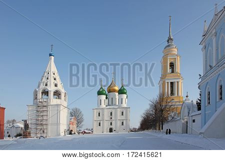 Russia Kolomna city The Cathedral of the Ascension