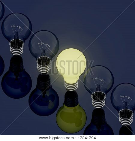 Light Bulb  In Line