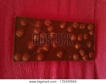 Chocolate - Sugar confectionery product with a chocolate product from cocoa beans or cocoa butter