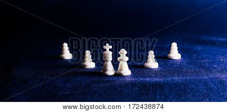 Chess is great board game it is very ancient was invented in India this game can be associated with the business the main figure is the king a manager he is the chief and all around to protect him in chess also has a career ladder and grades the importanc