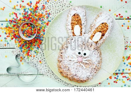 Easter bunny cake healthy Easter treats for kids fun food idea