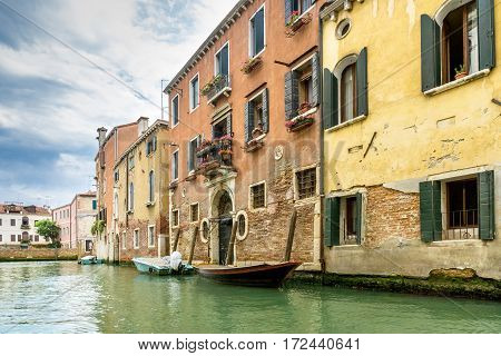 The tranquility of Venice. Venice from his other side. Far from the tourist masses you can also find quiet places.
