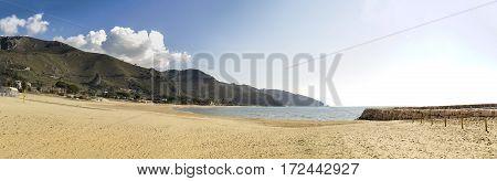 Sperlonga the Italian beautiful coast sea holiday