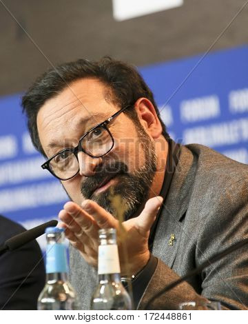 BERLIN, GERMANY - FEBRUARY 17: James Mangold attends the 'Logan' (Masaryk) press conference during the 67th  Film Festival Berlin at Grand Hyatt Hotel on February 17, 2017 in Berlin, Germany.