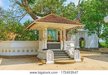 Shrine At Bo Tree