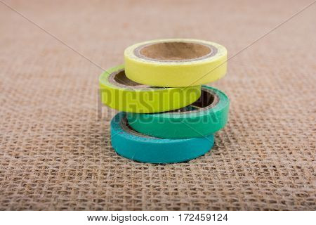 Colorful Insulating Adhesive Tapes