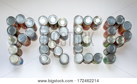 Canned goods spelling