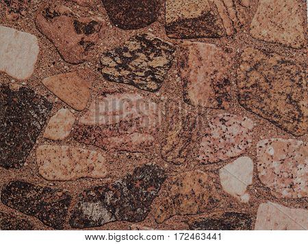 Stone wall pattern usable as background pattern and texture.