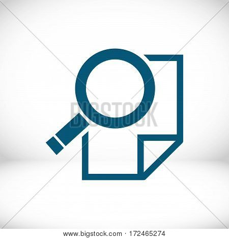 search icon stock vector illustration flat design