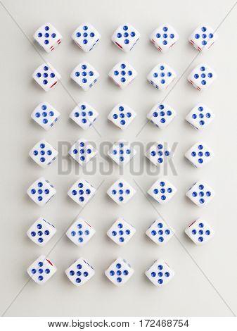 Corner Five Cross Pattern
