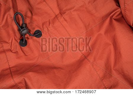 Rain Coat with Adjustment Cord background texture