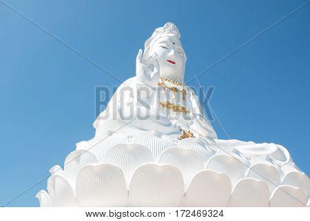 Big Buddha Guanyin in Thailand in north of Thailand