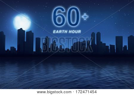 Earth Hour Message To Turn Off Electrical Equipment In 60 Minutes
