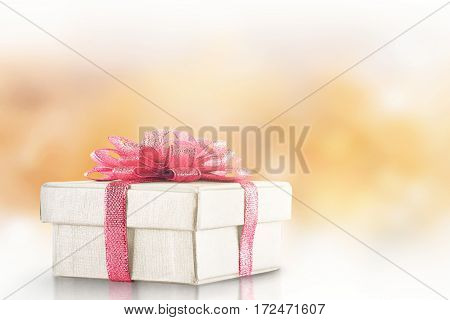 White Gift Box For Mother's Day