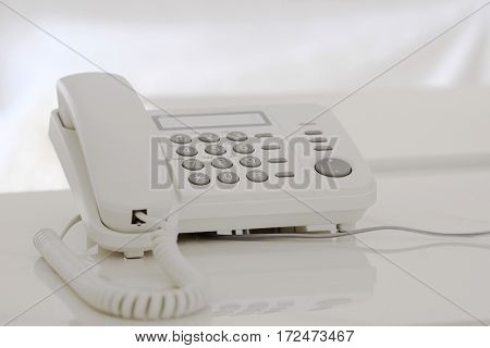 The image of telephone