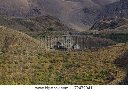 Old Stone Monastery In The Mountains Vorotnavank Syunik Region, Armenia