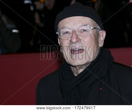 BERLIN, GERMANY - FEBRUARY 18: Director Volker Schloendorff arrives for the closing ceremony of the 67th Berlinale Film Festival Berlin at Berlinale Palace on February 18, 2017 in Berlin, Germany.