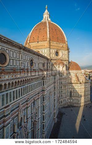 Santa Maria Del Fiore Cathedral, Also Called Duomo, Tuscany, Italy