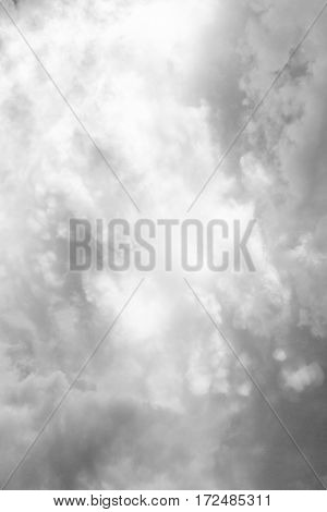 background of the beautiful white clouds.clouds,black and white