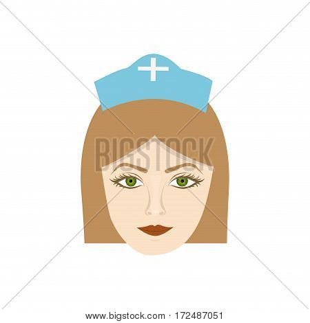 face nurce icon image, vector illustration desig