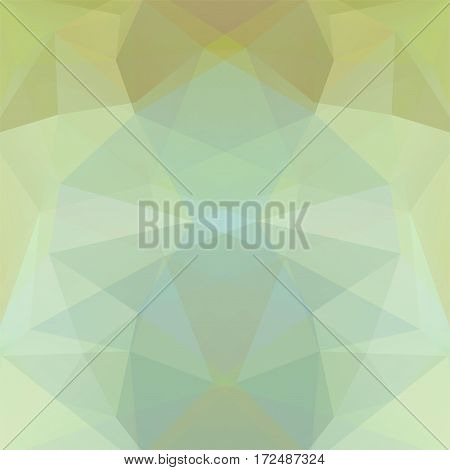 Abstract Background Consisting Of Pastel Green, Gray Triangles. Geometric Design For Business Presen