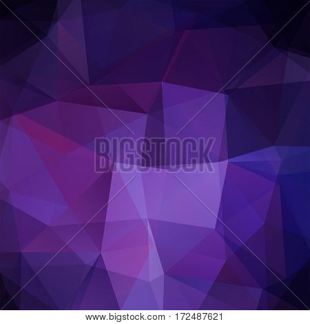 Abstract Background Consisting Of Purple Triangles. Geometric Design For Business Presentations Or W
