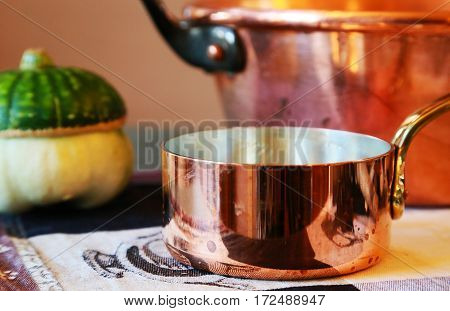 Scenery of the kitchen utensil of the kitchen