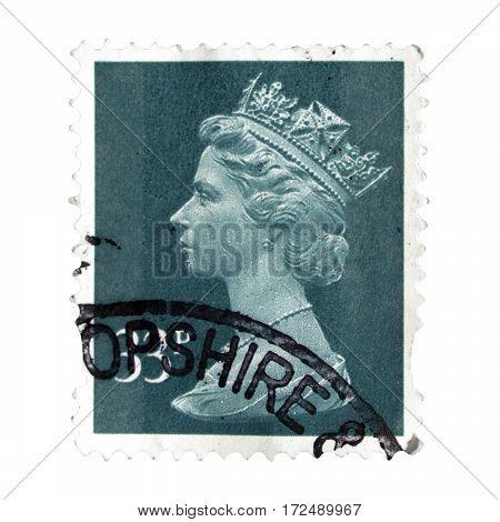 Stamp Of United Kingdom