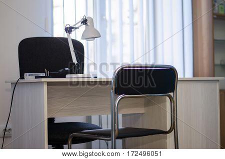 empty nail salon furniture and appliances nail