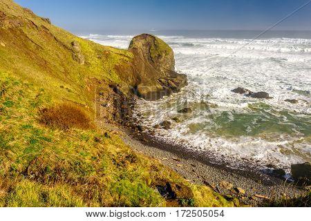 USA Pacific coast landscape, Oregon State