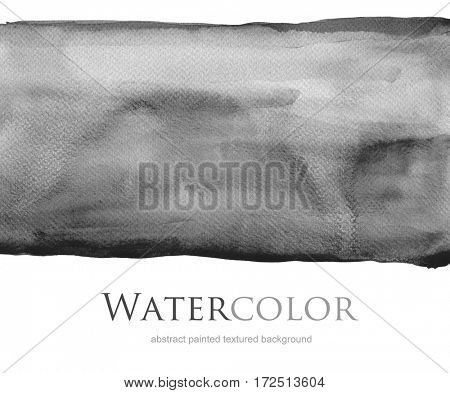 Abstract acrylic and watercolor blot painted background. Texture paper. Isolated.