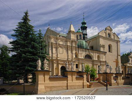 Body Of Christ's Collegiate Church In Jaroslaw. Poland
