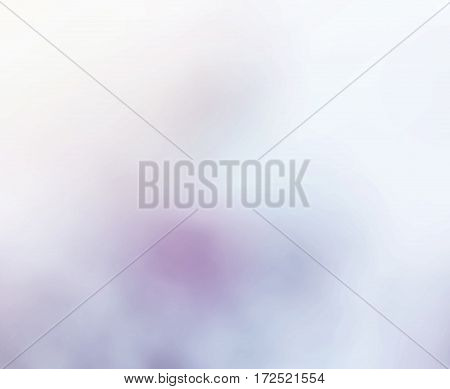 Cold background appellative in white and purple