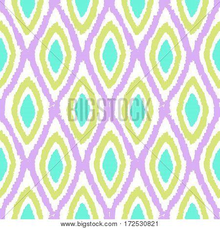 Beautiful bright background. Vector hand drawn seamless pattern