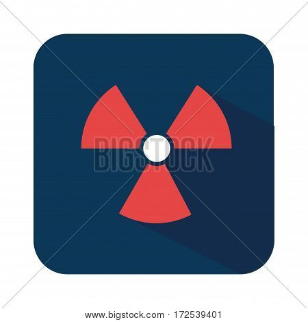biohazard symbol alert icon vector illustration design
